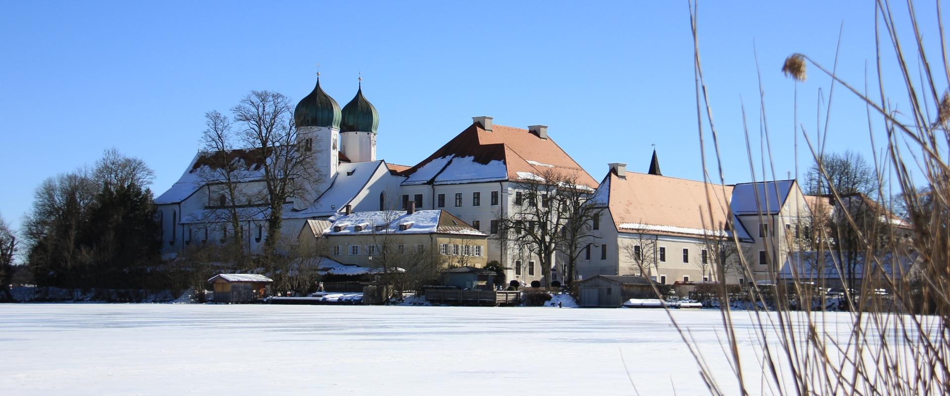 Winterzauber Kloster Seeon, © Tourist-Information Seebruck