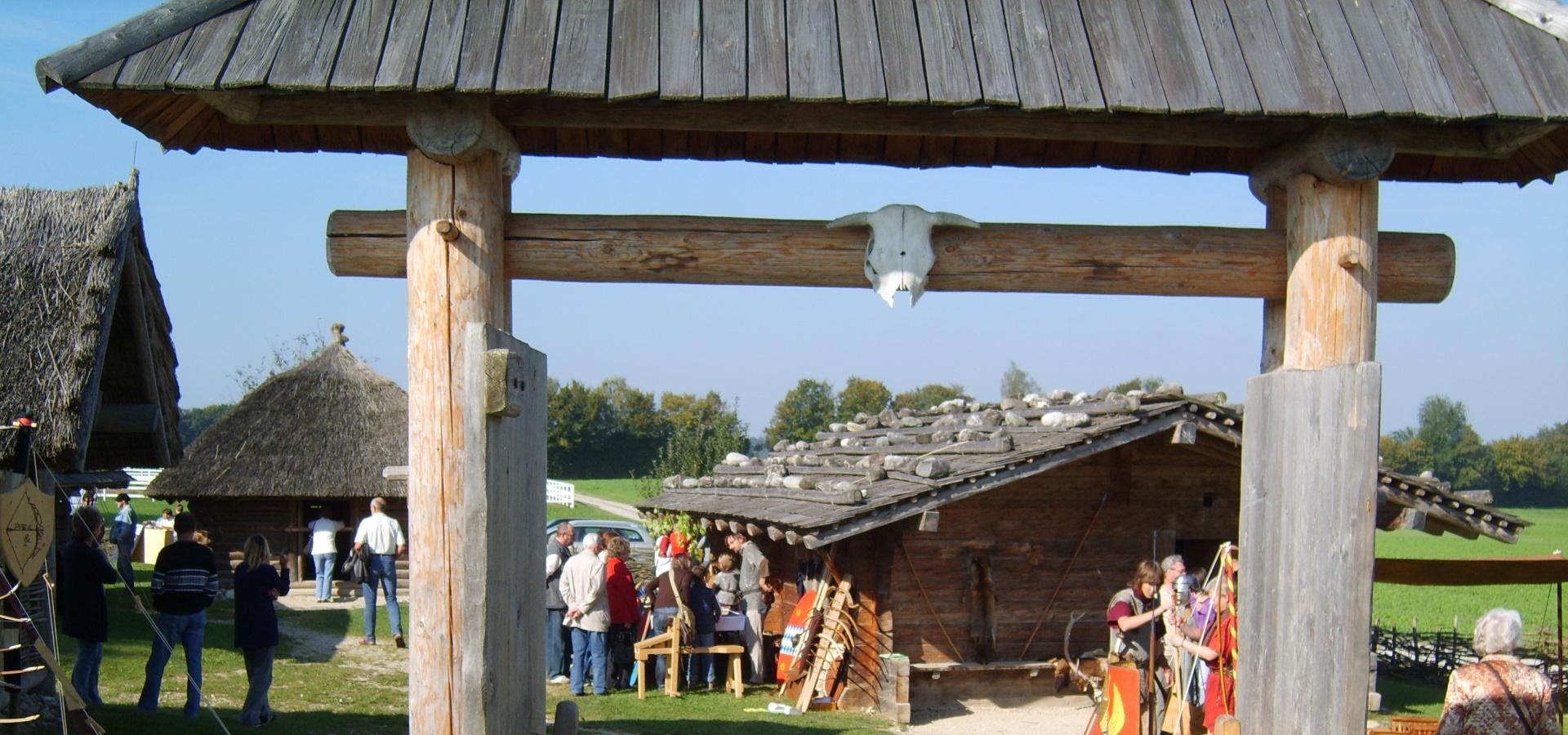 Bedaiusfest im Keltengehöft Stöffling, © Tourist-Information Seebruck