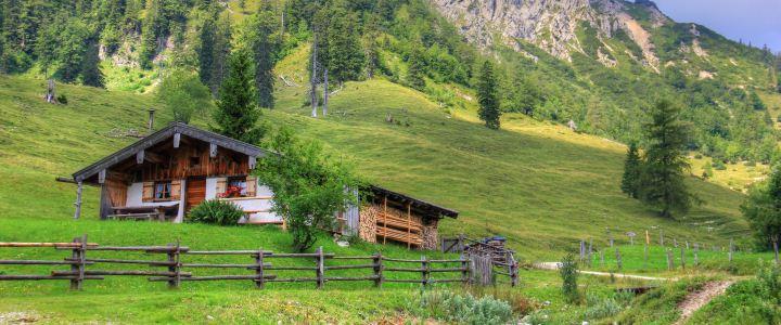 Alm, © Tourist-Information Seebruck