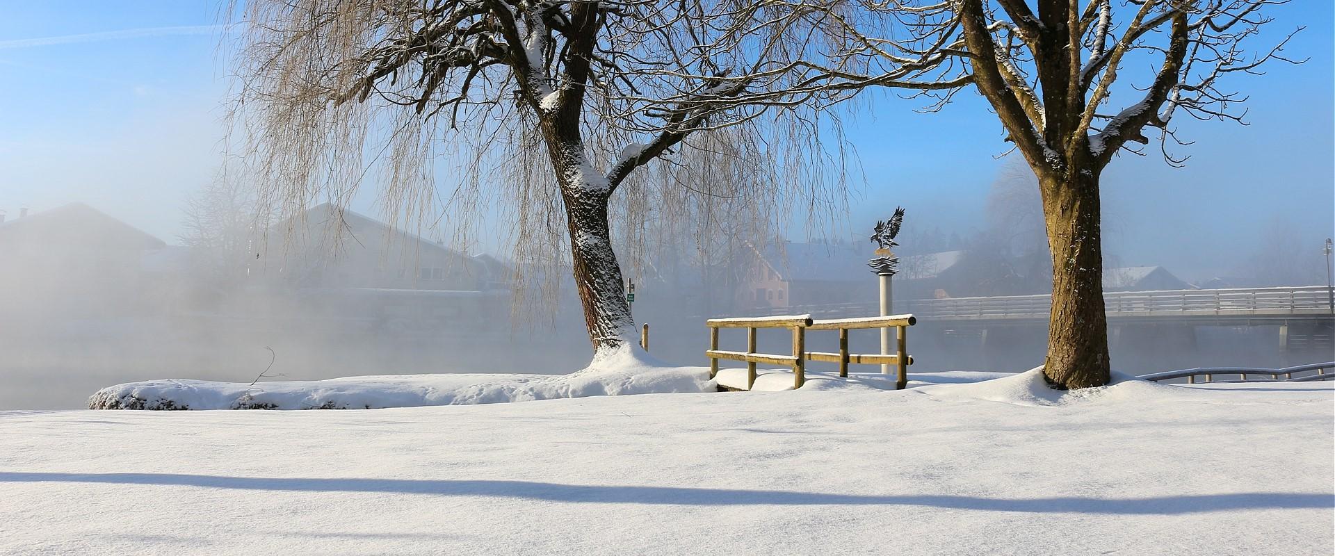Alzbad im Winter, © Hacker Christel
