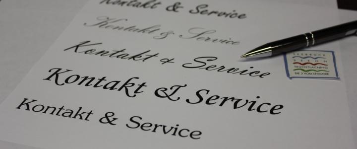 Kontakt und Service, © Andrea Wieshuber
