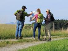 Aktiv unterwegs, © Tourist-Information Seebruck