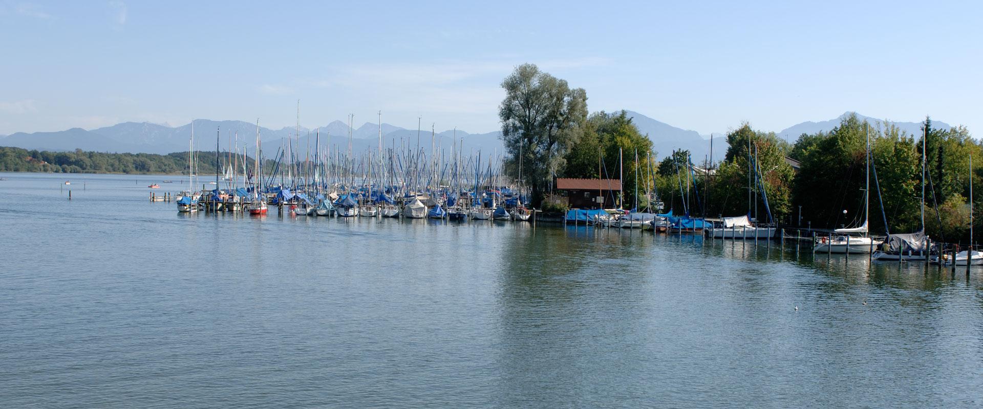 Yachthafen Seebruck, © Tourist-Information Seeon-Seebruck