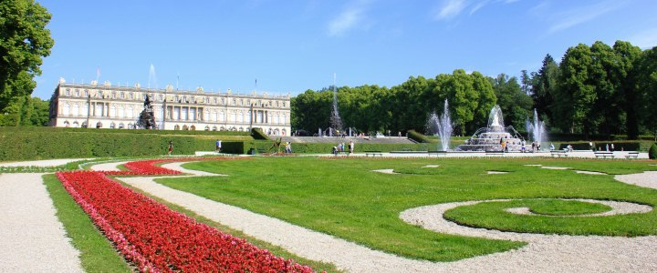 Neues Schloss Herrenchiemsee, © Tourist-Information Seebruck